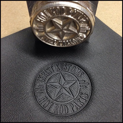metal stamp. metal stamp